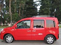 Дефлекторы окон (ветровики) Renault Kangoo II 2008-2020 передние+задние двери, Cobra Tuning - VL, R12409