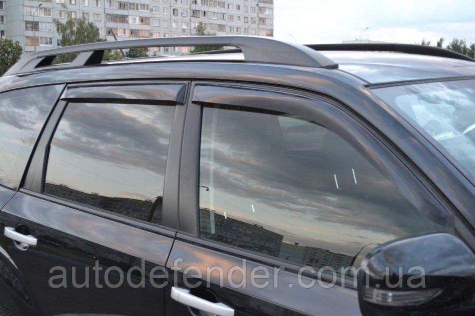 Дефлекторы окон (ветровики) Subaru Forester III 2008-2012, Cobra Tuning - VL, S40108