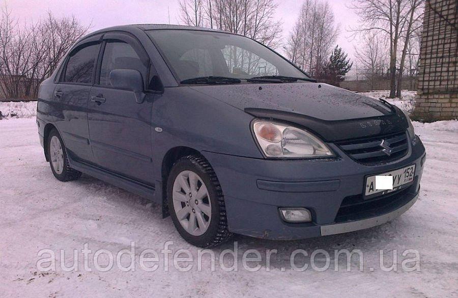 Дефлектори вікон (вітровики) Suzuki Liana sedan 2002-2007, Cobra Tuning - VL, S51302