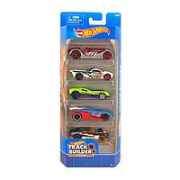 Игрушка Детская Для Мальчиков Подарочный Набор Машинок гоночные 5 штук Хот Вилс Stunt Team Hot Wheels Mattel