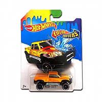 Игрушка Детская Для Мальчиков Машинка термочувствительная Измени Цвет Хот Вилс Hot Wheels MEGA-DUTY Mattel