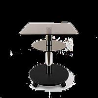 Стол журнальный Commus Bravo Light400 Kv6 bronza-venge-chr50, фото 1