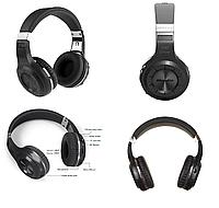 Беспроводные Bluetooth наушники Bluedio H Plus с поддержкой MicroSD и радио Черный