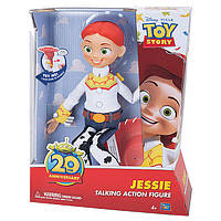 Игровая Говорящая Кукла Джесси История игрушек, 20 англ. фраз, 36 см, юбилейная - Jessie Toy Story Thinkway