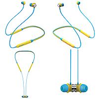 Беспроводные Bluetooth наушники Bluedio TN с 12 часами автономности Желтый