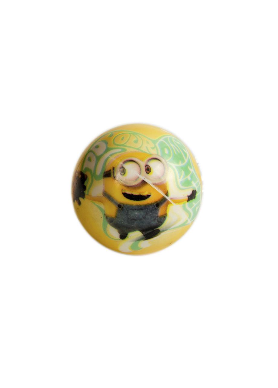 """М'ячик """"Міньйон"""" Universal Studios D=6см Жовтий, Зелений, Білий"""