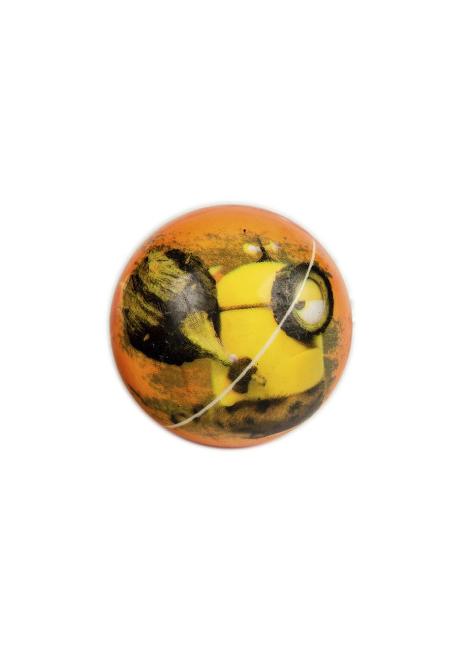 """М'ячик """"Міньйон"""" Universal Studios D=6см Оранжевий, Жовтий, Коричневий"""