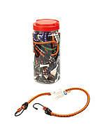 Набор резинок с крючками (18 шт) Powerfix 30-120см Разноцветный, фото 1