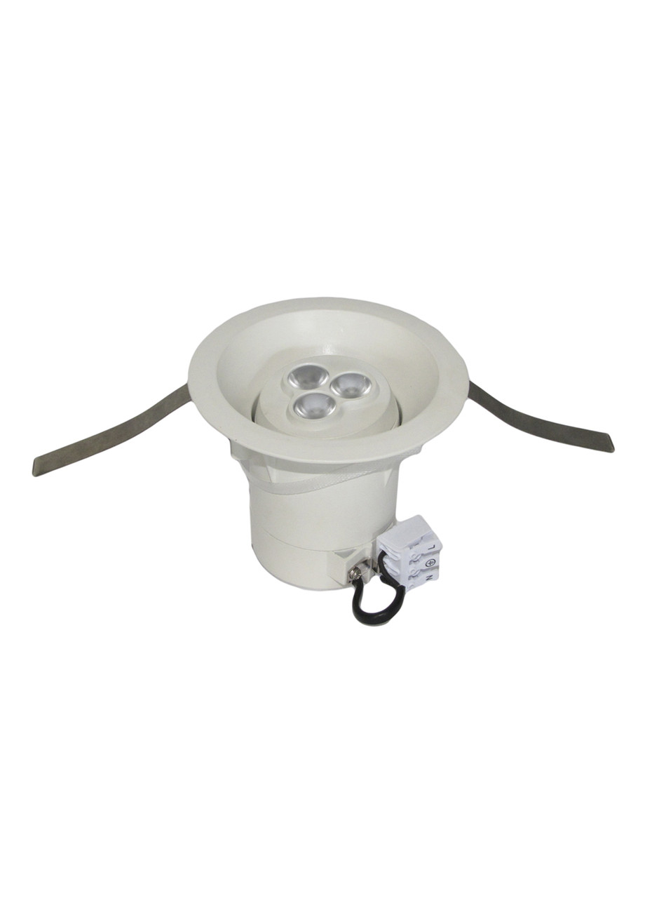 Точечный светильник 3W IP20 Reer 12х10см Белый