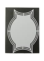 """Трафарет для творчості """"Медаль"""" Dutch Doobadoo 21х14,5 см Сірий"""