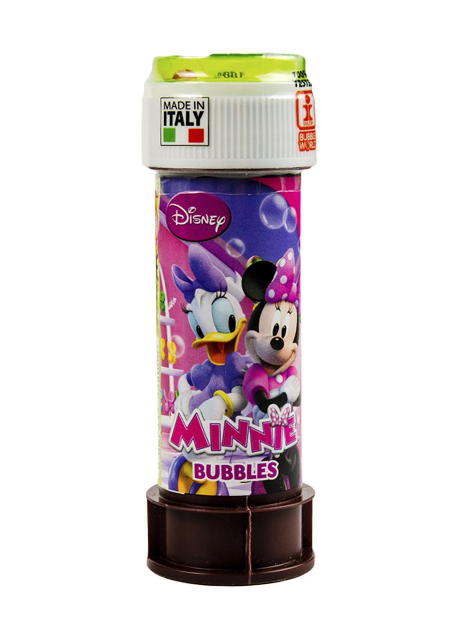 """Мыльные пузыри """"Minnie""""60мл Disney 0,06л Розовый, Фиолетовый, Зеленый"""