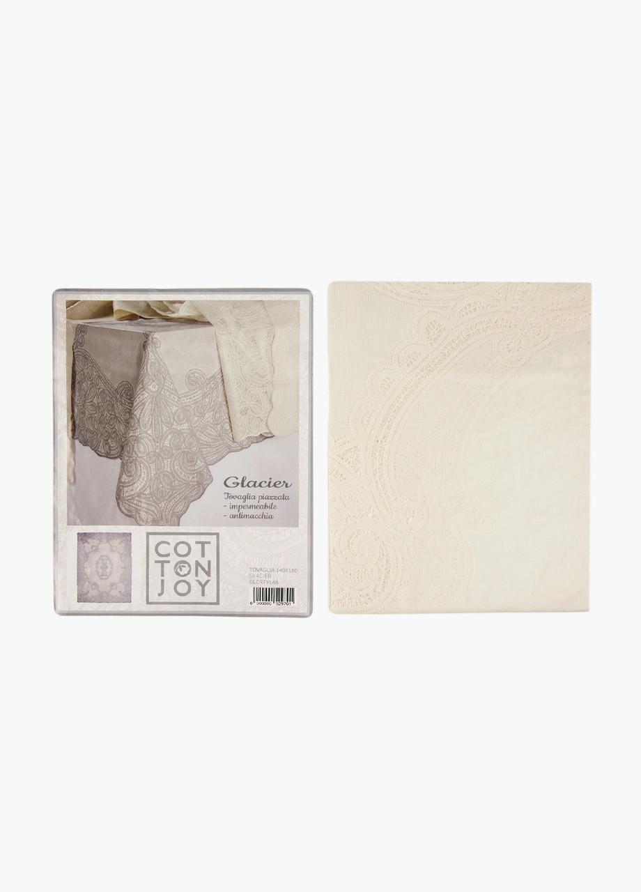 Скатерть 140х180см Cotton Joy 140х180см Молочный