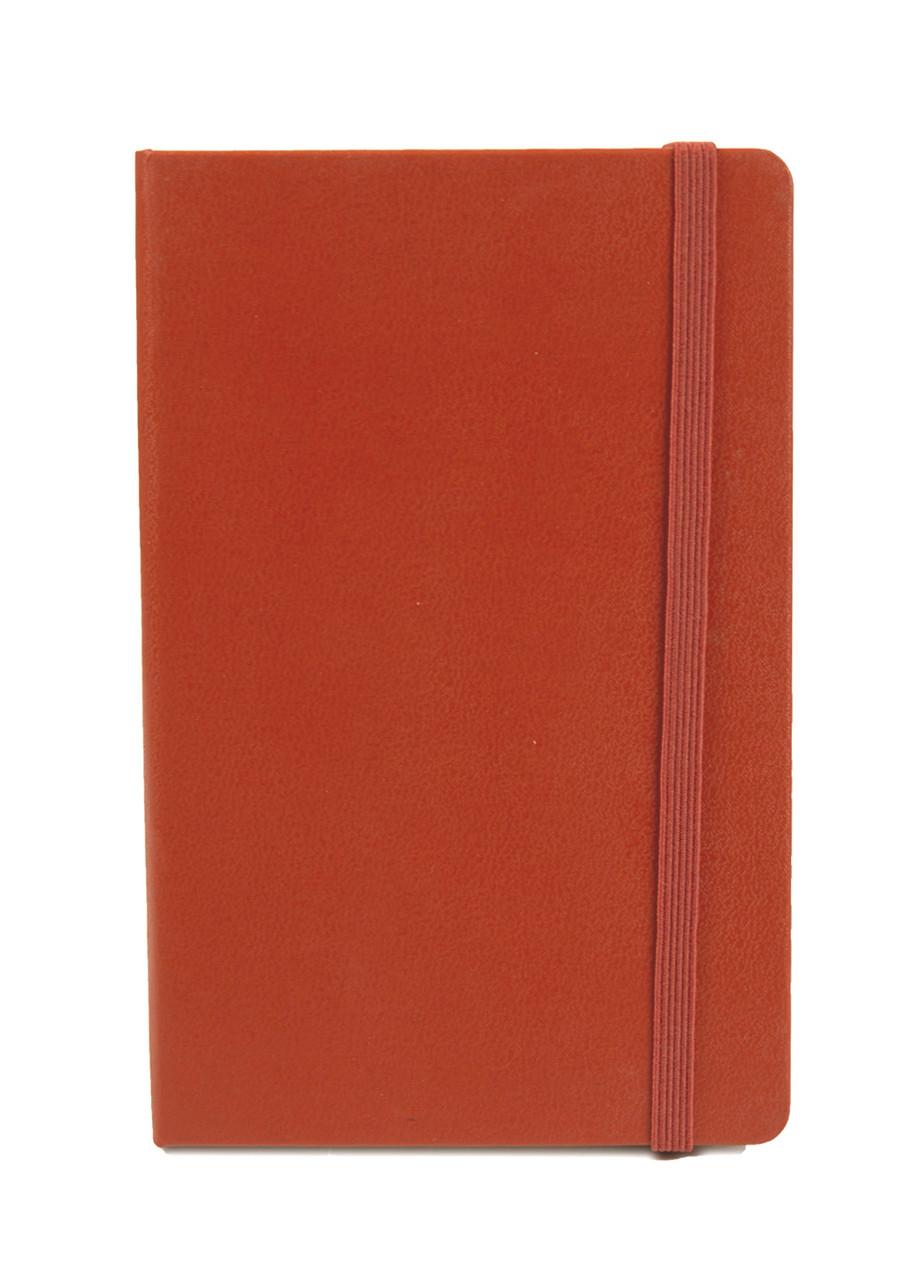 Блокнот на резинке С7 Penny 14,5х9,5см Оранжевый