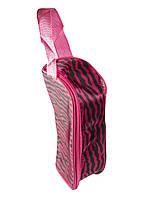 Косметичка Da Vinci 18х10см Рожевий
