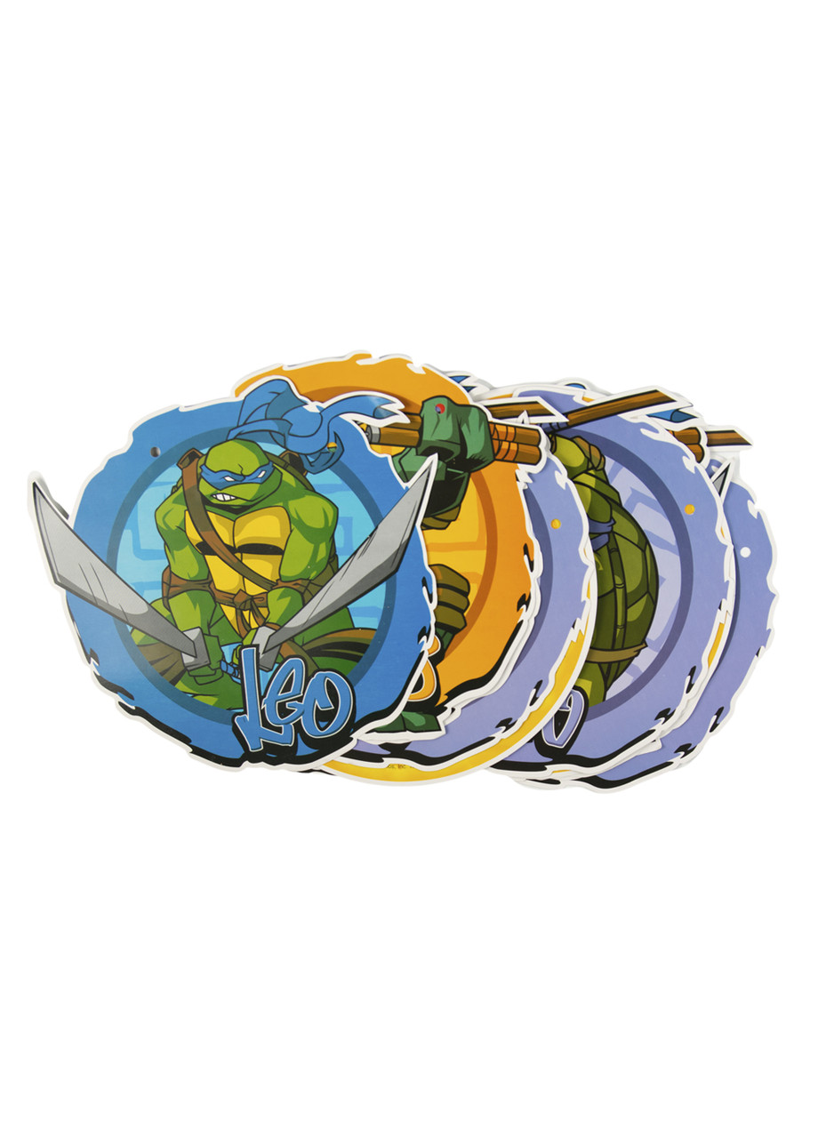 "Гирлянда ""Черепашки ниндзя"" BBS 400х20см Зеленый, Голубой, Оранжевый"