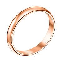 Золотое обручальное кольцо Любовь и верность, 2.5мм 000008406 20.5 размер