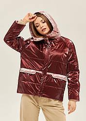 Модная короткая женская куртка в 5ти цветах К-151