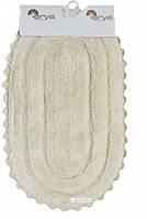 Набор ковриков для ванной Arya Afro 45*70 см + 65*100 см кремовый арт.TR1004386