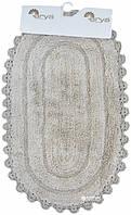 Набор ковриков для ванной Arya Afro 45*70 см + 65*100 см бежевый арт.TR1004386