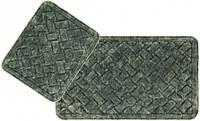 Набор ковриков для ванной Arya Hasir 50*60 см + 60*100 см зеленый арт.TR1006872