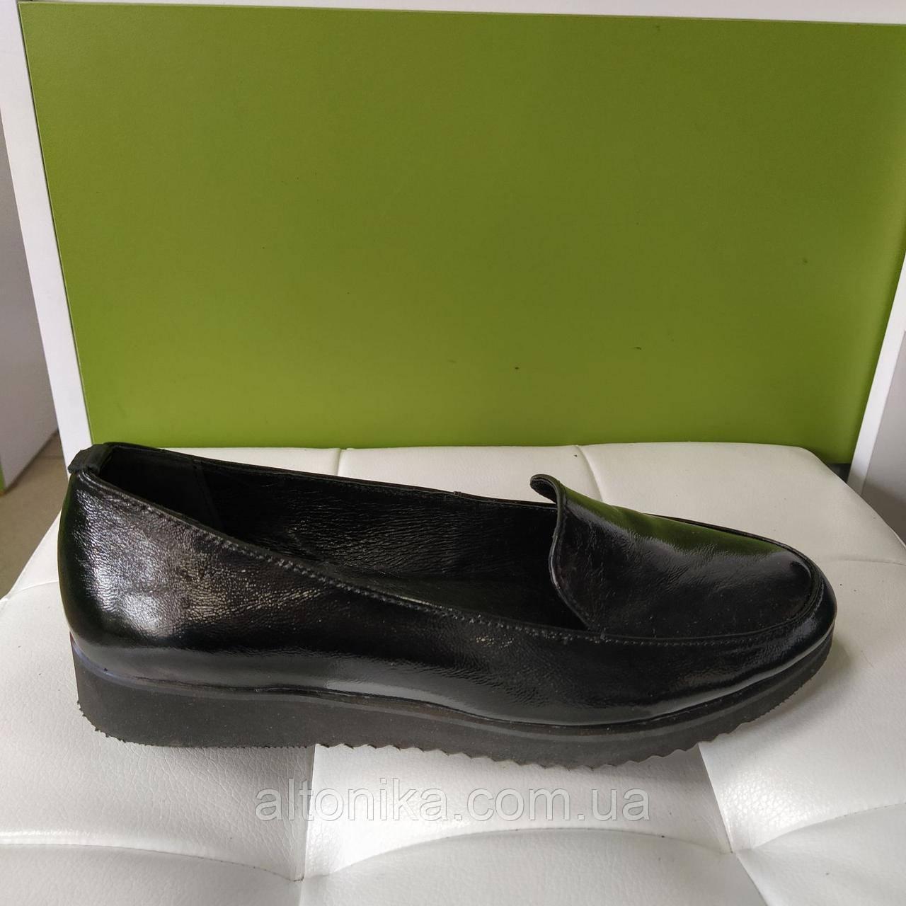 STTOPA 39р! Размеры 36-44! Туфли лоферы больших размеров из натуральной кожи. С6-6-3644-3