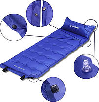 Самонадувающийся коврик KingCamp Base Camp XL(KM3559) (navy blue), фото 2