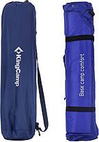 Самонадувающийся коврик KingCamp Base Camp XL(KM3559) (navy blue), фото 3