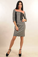 Платье женское повседневное офисный вариант