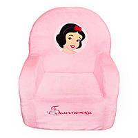 Детское кресло Weber Toys белоснежка 67 х 55 х 41 см Розовый