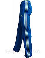 Мужские спортивные брюки, штаны adidas из микрофибры без подкладки, (реплика) размер XL, 50