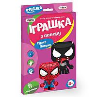 Игрушка из картона Strateg Супер павуки на украинском SKL11-237468
