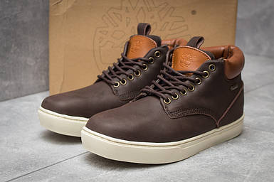 Зимние мужские ботинки 30113, Timberland Groveton, коричневые, < 46 > р.46-29,0
