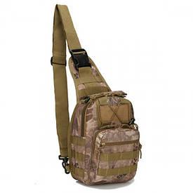 Сумка через плечо для скрытого ношения оружия ONE STRAP TrueGuard Kryptek Nomad