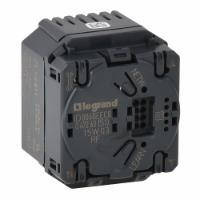 MyHomePlay Legrand выключатель-приемник с нейтралью для приводов жалюзи/рольставней 1х500ВА RFZB (067263)