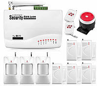 Охранная GSM сигнализации GSM Alarm System G10A maxi pro home