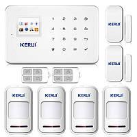 Беспроводная сигнализации GSM KERUI G18 для 4-х комнатной квартиры