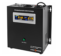 ИБП с правильной синусоидой LogicPower LPY-W-PSW-2000VA+(1400W)10A/20A 24V для котлов и аварийного освещения