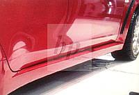 Пороги (evo / evolution) Mitsubishi lancer X (митсубиси лансер Х (10) 2007+)