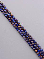 Заготовка для бус и браслетов нить натуральных камней яшмы  39 см  8,5 мм Без замка