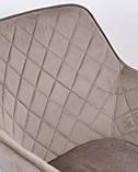 Кресло ANTIBA  велюр пудровый серый Concepto (бесплатная доставка), фото 8