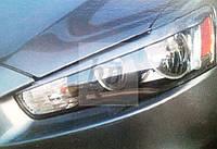 Реснички передних фар Mitsubishi lancer X (митсубиси лансер Х (10) 2007+)