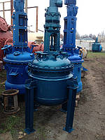 Эмалированный реактор купить в Украине, 0,4м3. 0,63м3. 1м3. 1,6м3. 2,5м3. 4м3. 6,3м3. до 50м3.