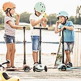 Scoot and Ride Детский защитный шлем лимонный lemon Kinder Fahrradhelm  (S-M), фото 2