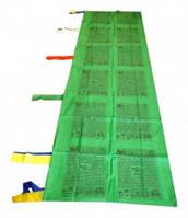 9040374 Тибетские флажки ЛУНГ-ТА вертикальные 1 флаг Зелёный