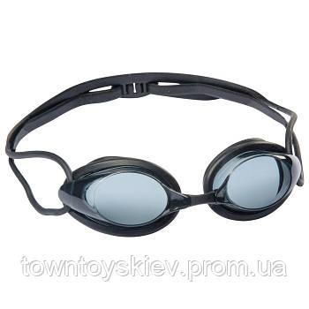 Очки для плавания Bestway 21071 в футляре ( 21071(Black) Чёрный регулир.ремешок, в футляре)