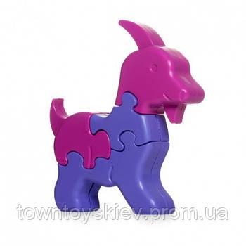 Игрушка развивающая: 3D пазлы Животные 39385 (Козлик)