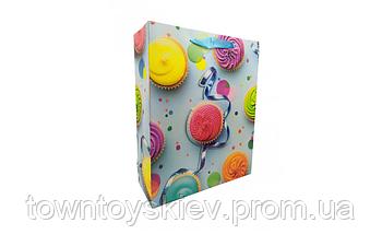 Подарочный пакет 7503-5M-1/2/3/4 (Капкейки)