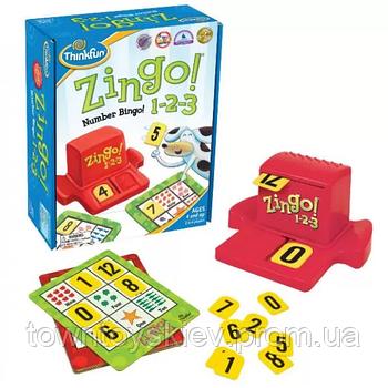 Игра Зинго 1-2-3   ThinkFun Zingo 1-2-3 7703-UC