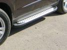 Пороги (боковые дуги)  Audi Q5 (2008-...)