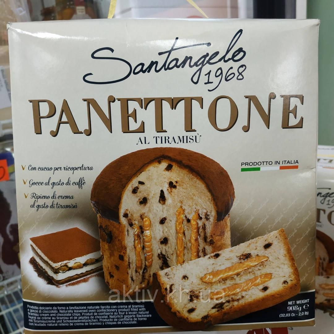 Итальянский кекс паска Панеттоне Santangelo тирамису 908гр